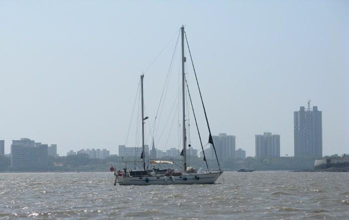 Sailing Into Mumbai